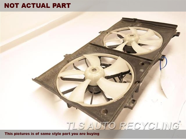 FAN ASSEMBLY, 16 FINS PER INCH