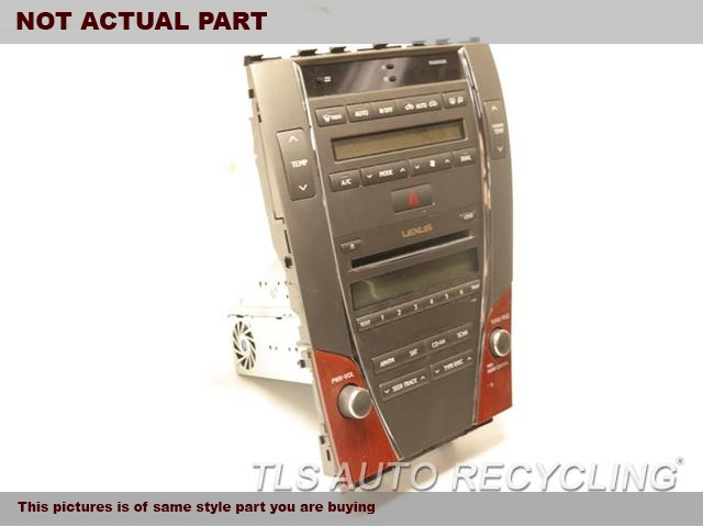 2010 Lexus ES 350 Radio Audio / Amp. RECEIVER, ID P1869 ON RADIO FACE