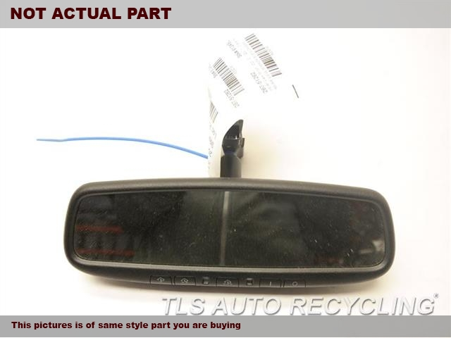 2014 Lexus ES 350 Rear View Mirror Interior. 87810-0WB30BLACK INTERIOR REAR VIEW MIRROR