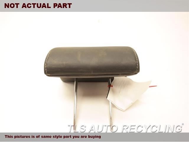 2014 Lexus ES 350 Headrest. 71940-33C50-P0BLACK REAR OUTER LEATHER HEADREST