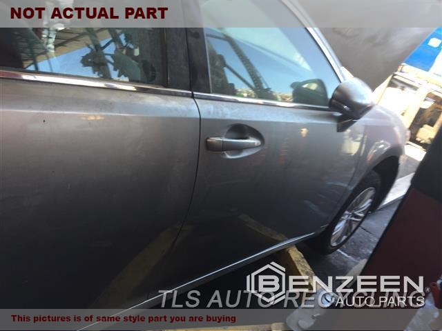 2013 Lexus ES 350 Door Assembly, Front. SCRATCHES000,RH,BLK,PW,PL,PM,TEMPERED GLASS