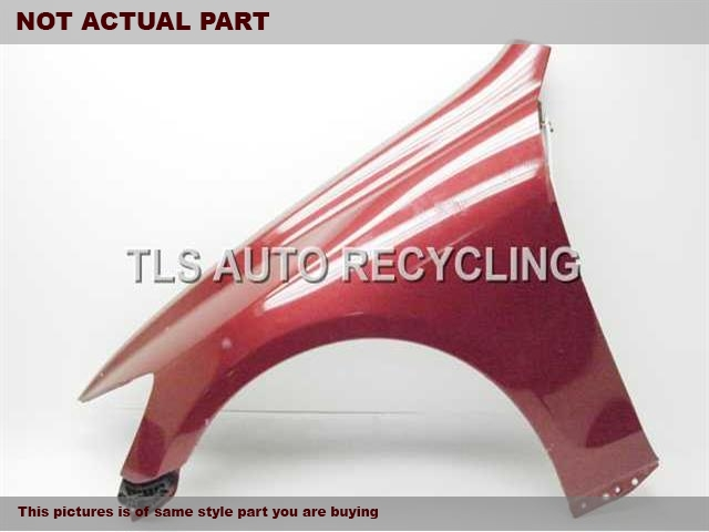 2007 Lexus GS 350 Fender. REPAINTRED DRIVER FENDER