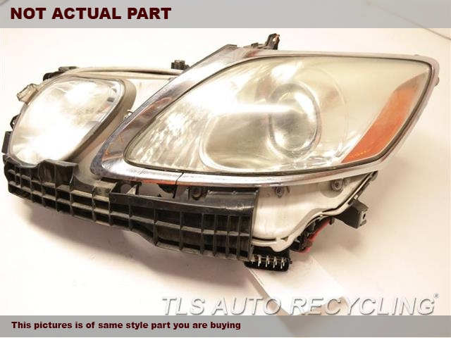 2006 Lexus Gs 300 Headlamp Assembly UPPER TAB HAS CRACK LH,(XENON,HID)ADAPTIVE HEADLAMP NIQ