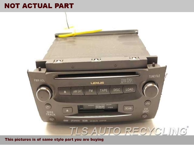 2007 Lexus GS 350 Radio Audio / Amp. RADIO RECEIVER 86120-30A70-E0