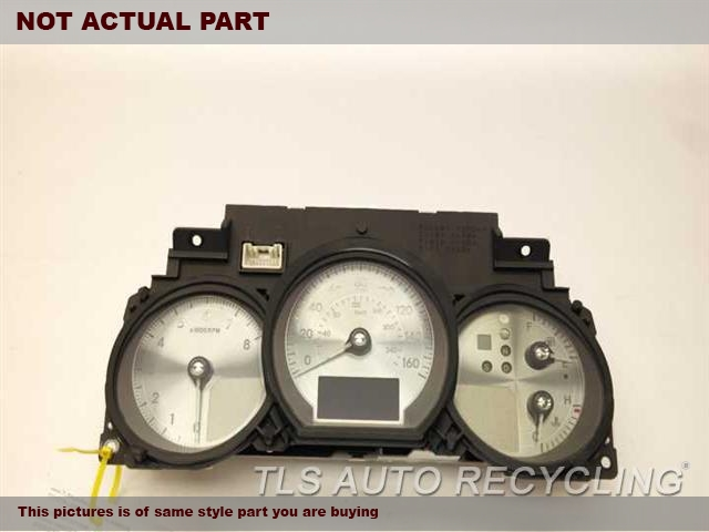 2007 Lexus GS 350 Speedo Head/Cluster. SPEEDOMETER 83800-30F80