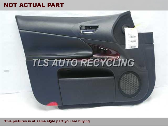 2007 Lexus GS 350 Trim Panel, Fr Dr. 67610-30C11-E0