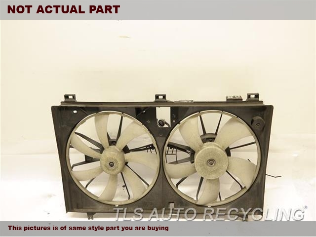 2007 Lexus GS 350 Rad Cond Fan Assy. FAN ASSEMBLY 16711-31240