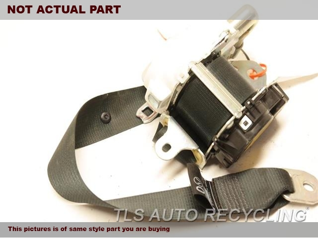 2013 Lexus Gs 450h Seat Belt Front  BLK,(BUCKET), DRIVER, RETRACTOR