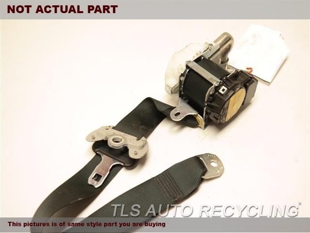 2013 Lexus Gs 450h Seat Belt Front  BLK,(BUCKET), PASSENGER, RETRACTOR