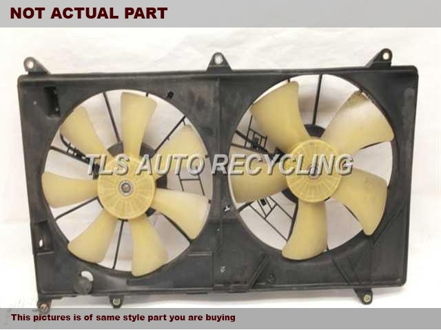 2001 Lexus Gs 430 Rad Cond Fan Assy  FAN ASSEMBLY, (RADIATOR)