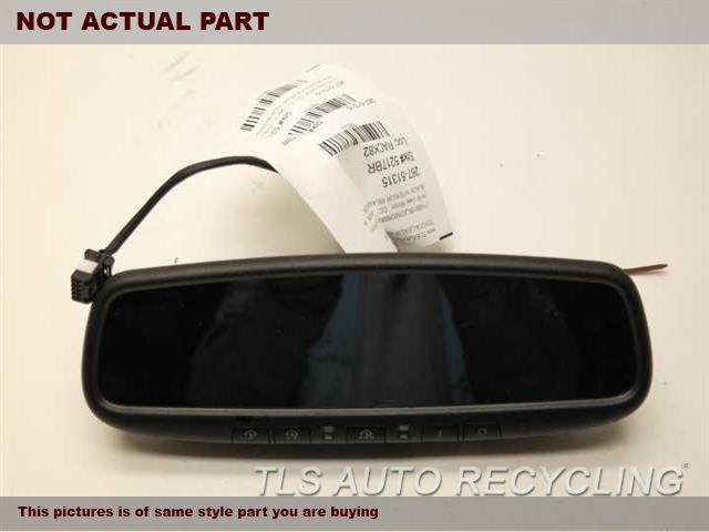 2013 Lexus GS 350 Rear View Mirror Interior. BLK,(AUTOMATIC DIMMING)