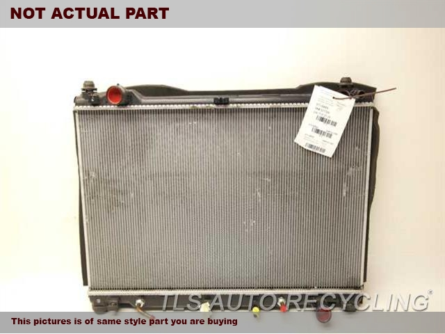 2013 Lexus Gs 450h Radiator  ENGINE ( GASOLINE )