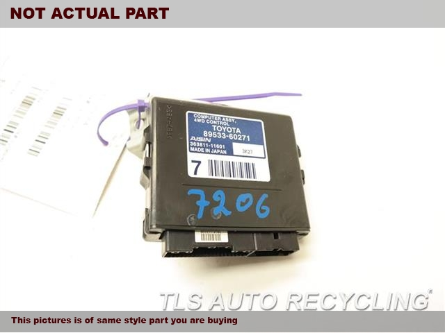 2014 Lexus GX 460 Chassis Cont Mod. 4WD CONTROL89533-60271 TRANSFER CASE COMPUTER