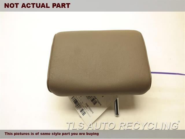 BROWN REAR OUTER LETHER HEADREST