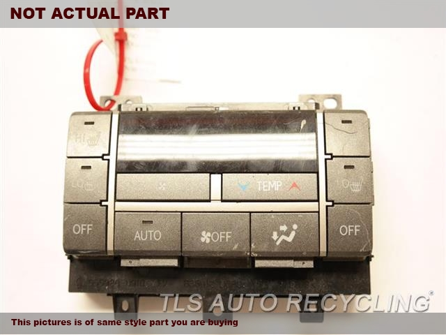 2014 Lexus GX 460 Temp Control Unit. REAR TEMPERATURE CONTROL 55900-60N00