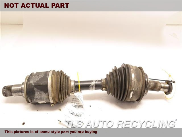 2016 Toyota 4 Runner Axle Shaft. FRONT AXLE, OUTER ASSEMBLY