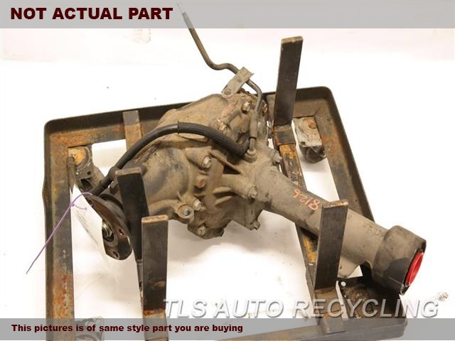 2008 Lexus Gx 470 Front Differential  FRONT, (3.727 RATIO)