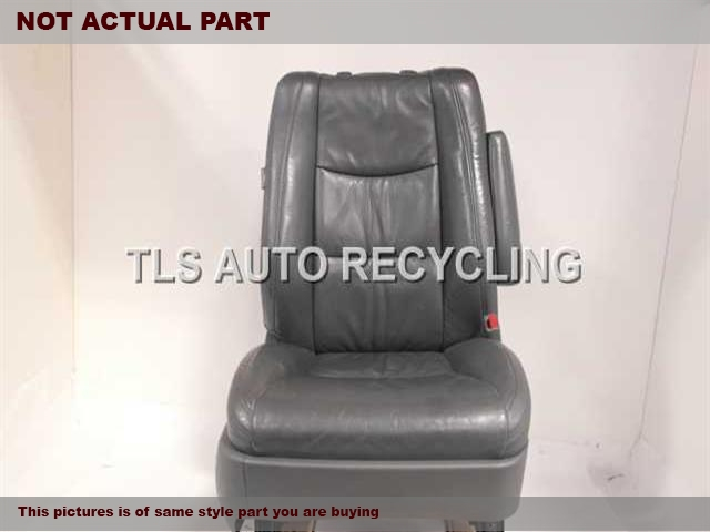 TAN PASSENGER FRONT LEATHER SEAT