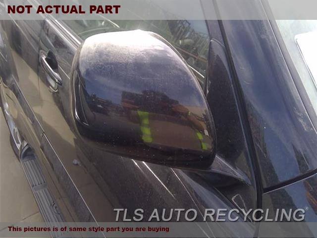 WHITE PASSENGER SIDE VIEW MIRROR