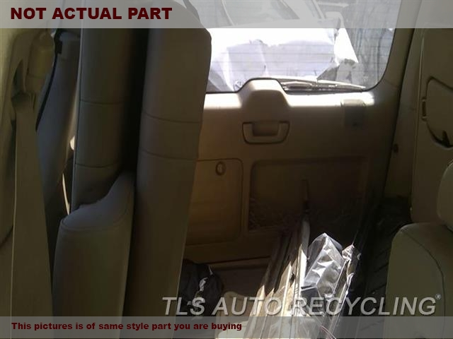 GRAY DRIVER 3RD ROW LEATHER SEAT