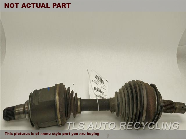 2005 Lexus GX 470 Axle Shaft. FRONT AXLE, OUTER ASSEMBLY