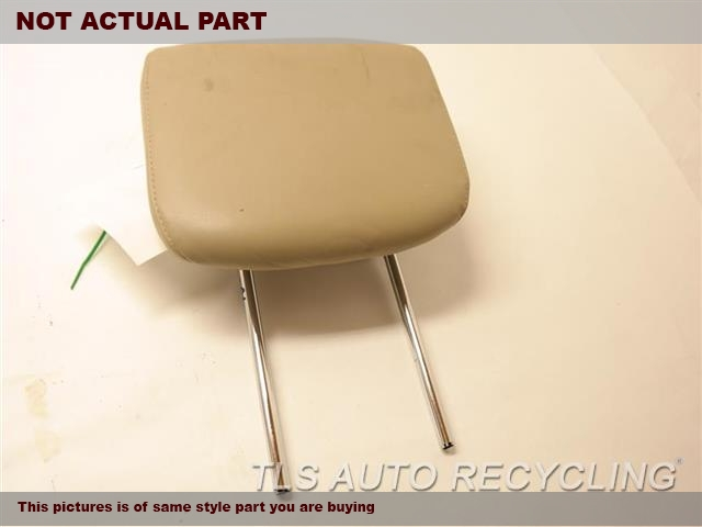 TAN REAR OUTER HEADREST LETHER