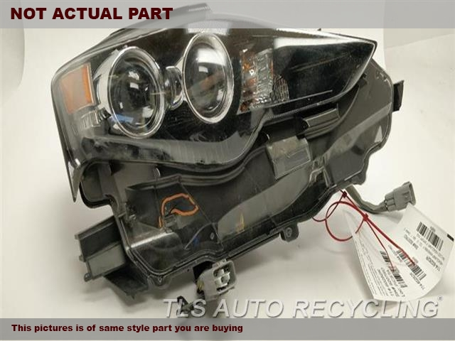 2014 Lexus IS 250 Headlamp Assembly. RH,SDN, LED, R.