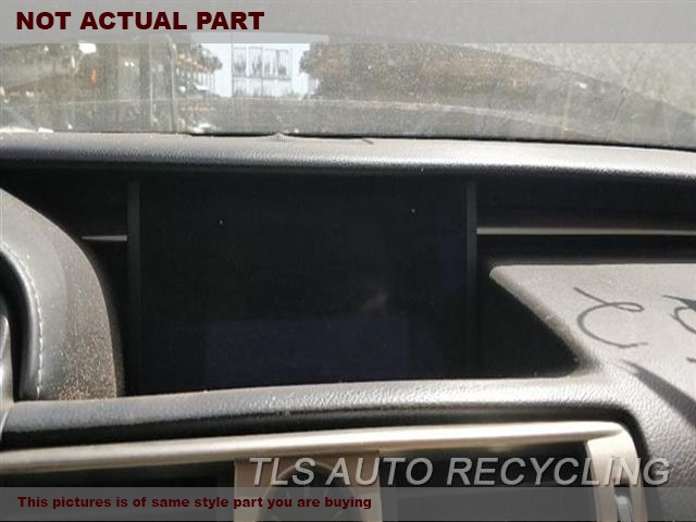 2015 Lexus IS 250 Navigation GPS Screen. (NAVIGATION), (CENTER DASH MOUNTED)