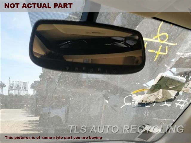 2014 Lexus IS 250 Rear View Mirror Interior. BLK,SDN, NAVIGATION