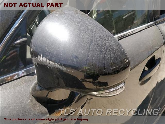 2015 Lexus IS 250 Side View Mirror. LH,BLK,PM,POWER, SDN, BLIND SPOT