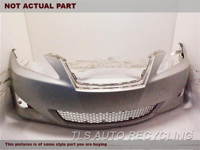2007 Lexus IS 250 Bumper cover Front. REPAINT4T3,GRY,W/O HEADLAMP WASHERS, W/O F
