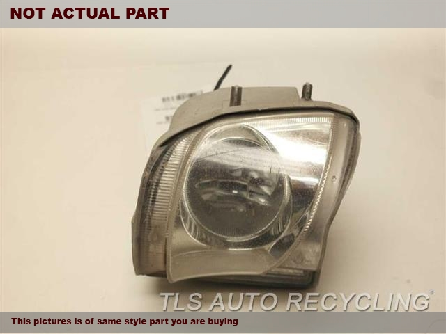 2007 Lexus IS 350 Front Lamp. RH,FOG-DRIVING, R.