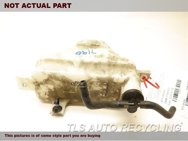 2013 Lexus IS 250 Coolant Reservoir. COOLANT RESERVOIR 16470-31080