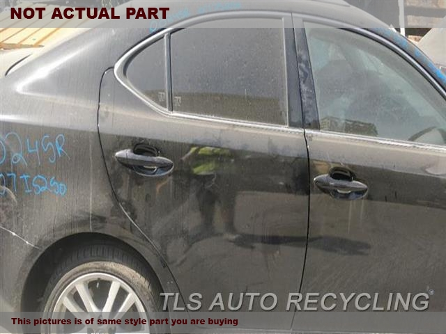 2011 Lexus Is 250 Door Assembly, Rear Side  000,RH,WHT,PW,PL