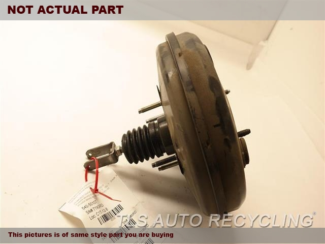 2009 Lexus IS 250 Brake Booster. POWER BRAKE BOOSTER 44610-53280
