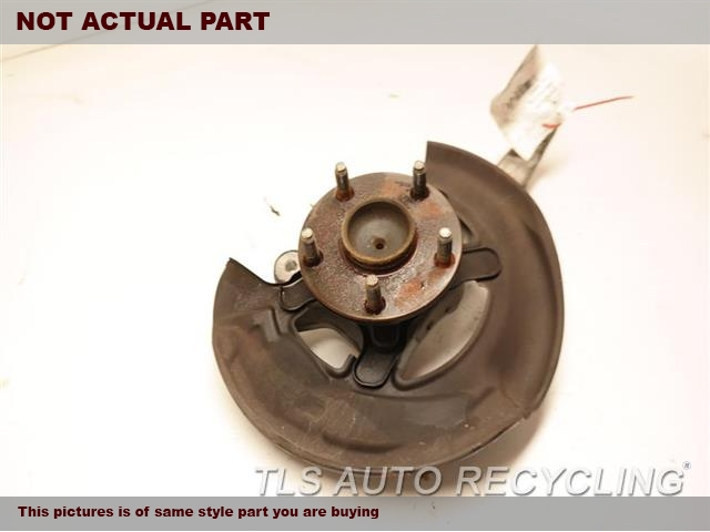 2011 Lexus Is 250 Spindle Knuckle, Fr  RH,SDN, RWD, R.