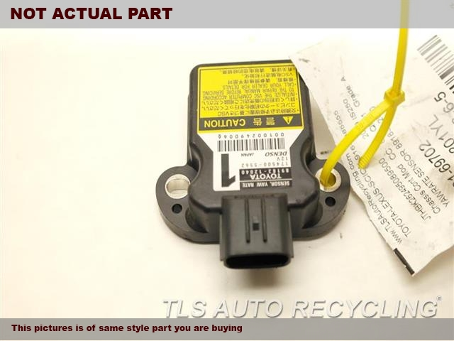2009 Lexus IS 250 Chassis Cont Mod. YAW RATE SENSOR 89180-53010