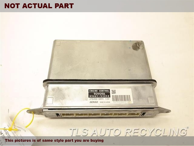 2009 Lexus IS 250 Eng/Motor Cont Mod. 89661-53C50 89661-53C51 ENGINE CONTROL UNIT ECU