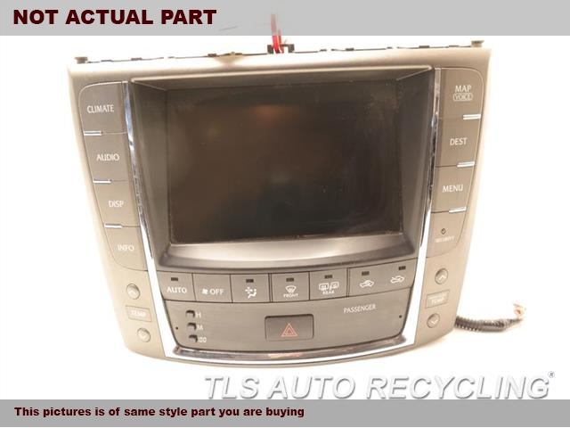 2009 Lexus IS 250 Navigation GPS Screen. NAVIGATION DISPLAY UNIT 86111-53280