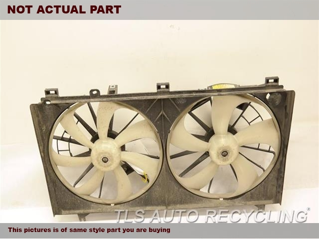 2009 Lexus IS 250 Rad Cond Fan Assy. RADIATOR FAN ASSEMBLY 16711-31320