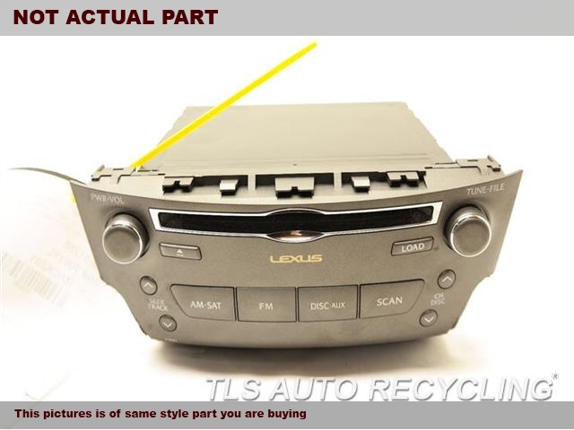 2009 Lexus IS 250 Radio Audio / Amp. RADIO RECIEVER 86120-53690 ID P1821