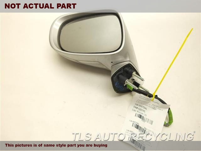 2009 Lexus IS 250 Side View Mirror. 87940-53400-B0GRAY DRIVER SIDE VIEW MIRROR