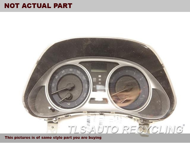 2009 Lexus IS 250 Speedo Head/Cluster. SPEEDO CLUSTER 83800-53860