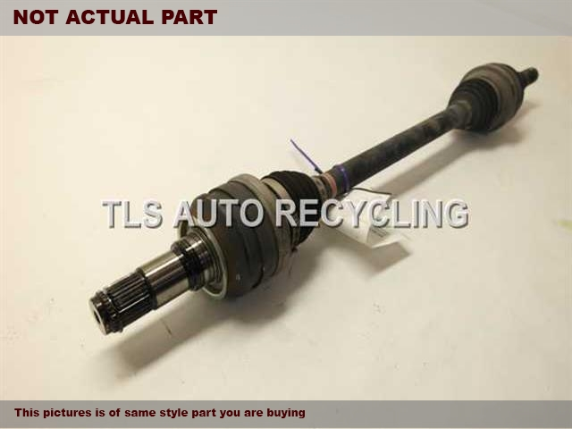2013 Lexus IS 250 Axle Shaft. DRIVER REAR AXLE SHAFT 42340-22180