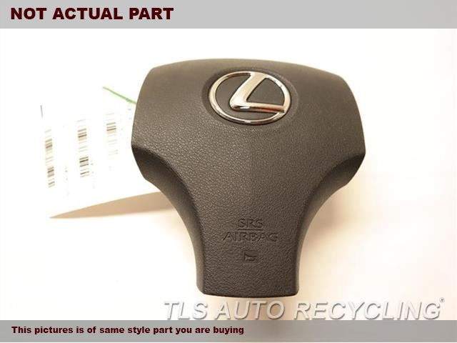 2013 Lexus IS 250 Air Bag. 55400-53906-C0BLACK STEERING WHEEL AIR BAG