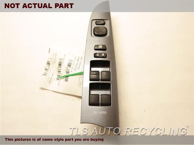 2013 Lexus IS 250 Door Elec Switch. MASTER WINDOW SWITCH 84040-53180