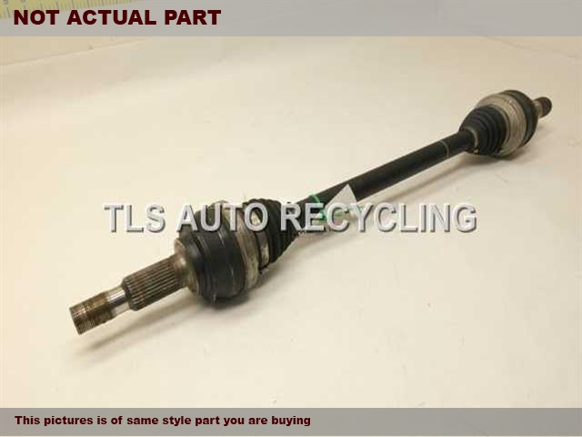 PASSENGER REAR AXLE SHAFT