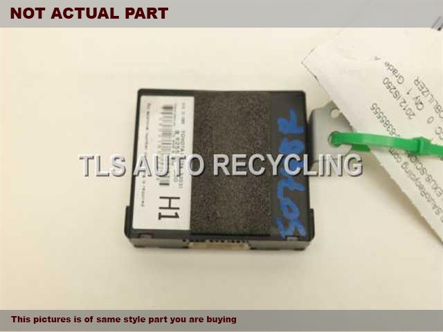 2013 Lexus IS 250 Chassis Cont Mod. 89784-53031 ECU IMMOBLILIZER