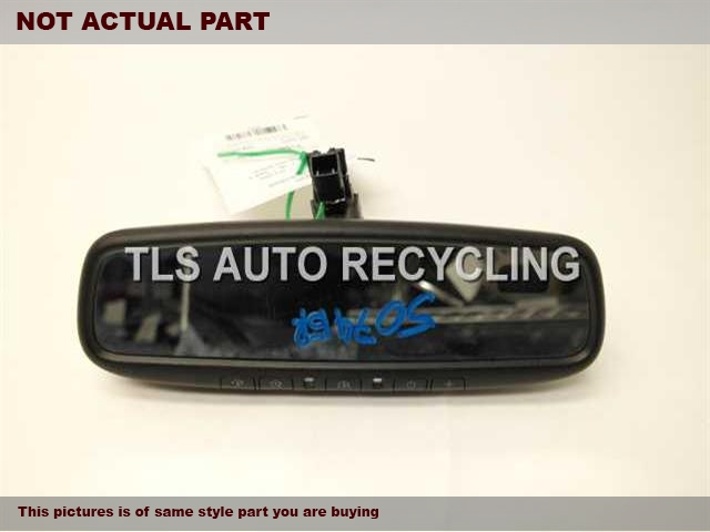 2013 Lexus IS 250 Rear View Mirror Interior.  87810-0W880BLACK INTERIOR REAR VIEW MIRROR