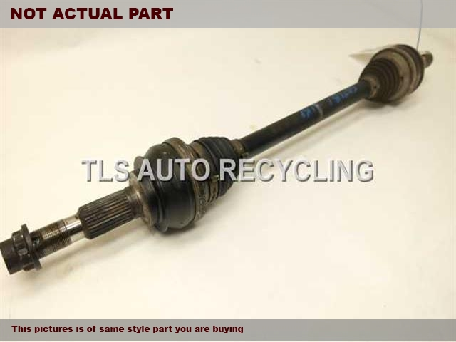 2014 Lexus IS 250 Axle Shaft. DRIVER REAR AXLE SHAFT 42340-53030
